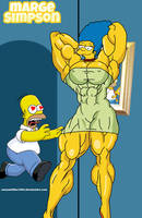 Marge Simpson!!! by camuskilller1904