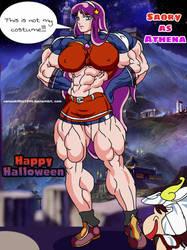 Athena as Athena!!! by camuskilller1904