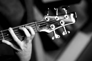 Bass Guitar by rosscaughers