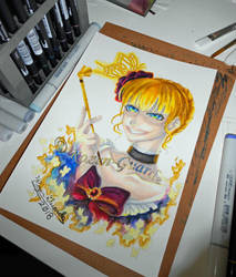 Fanart Friday_Beatrice the Golden Witch by Rozen-Guarde