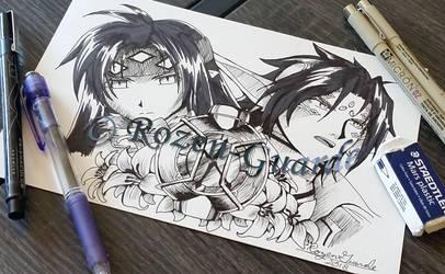 Fanart Friday_Chrono of Chrono Crusade by Rozen-Guarde