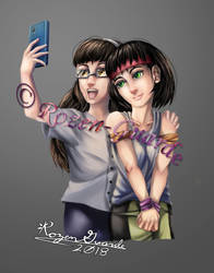 Jenny and Trina_Commission by Rozen-Guarde