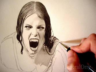 Aleera The Vampire by GeneralOrry