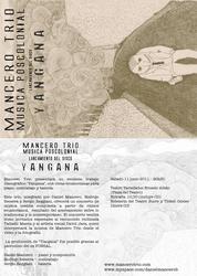 mancero trio (postal) by guambra-caremono