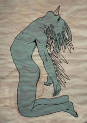 el angel feo by guambra-caremono
