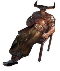 Dragon Age: Inquisition  Iron Bull by yangngi