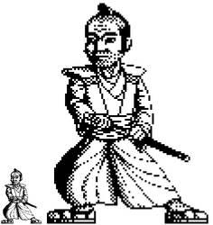 1-bit samurai by ZombieToaster