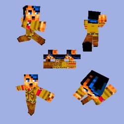Minecraft Adolf Hitler by ZombieToaster