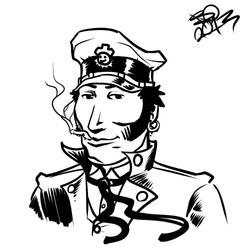 Corto Maltese by ZombieToaster