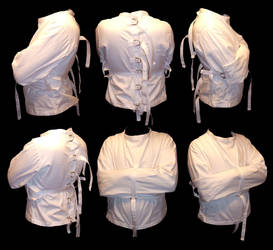 Arkham Asylum Straitjacket by theprincessbee