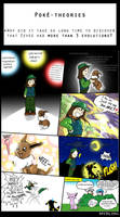 Pokemon Theories - Eevee Evolutions by Myrling