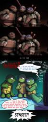 TMNT -  Big Brothers by Myrling