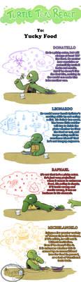 Turtle Tots React - Yucky Food by Myrling