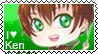 Ken/Kentin chibi hunter stamp (version 2) by Ittichy