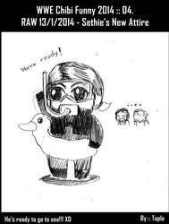 WWE Chibi Funny 2014 :: 04. by Tapla
