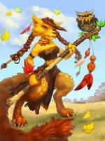 Foxy by lowly-owly
