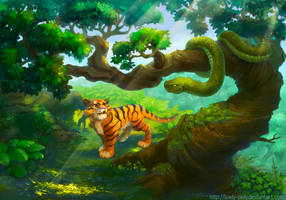 Tigertigerololo by lowly-owly