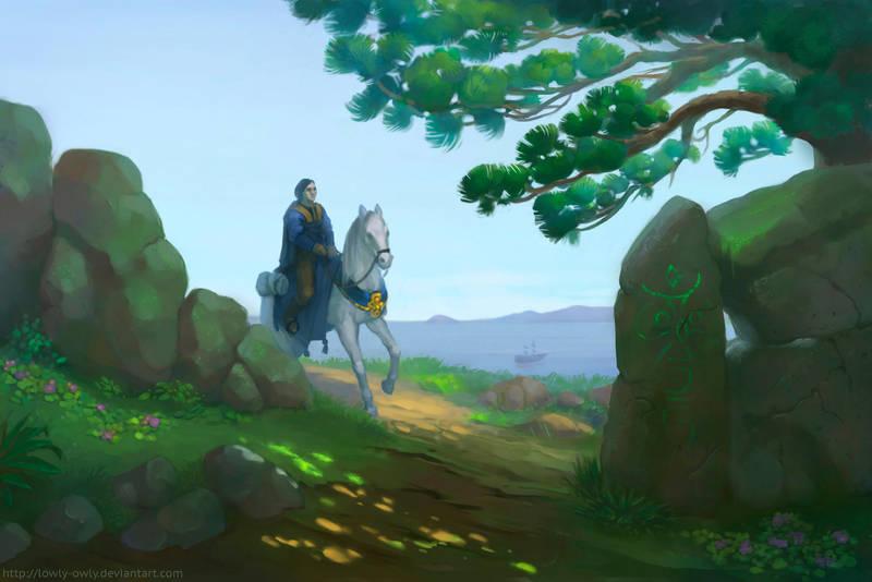 Journeyman by lowly-owly