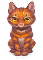 Kitty by lowly-owly