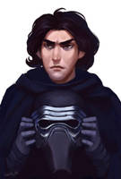 Kylo Ren(2) by lowly-owly