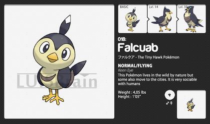 018: Falcuab by LuisBrain