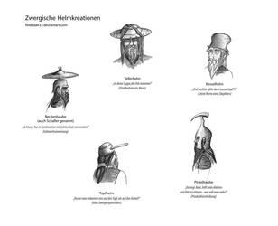 Zwergische Helmkreationen by FireBlade33