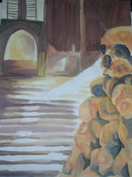 Watercolor I - Dead Quiet by WatermelonLove