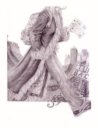Illustration - Self-Portrait 2 by WatermelonLove