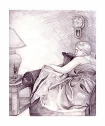 Illustration - Fabric Study by WatermelonLove