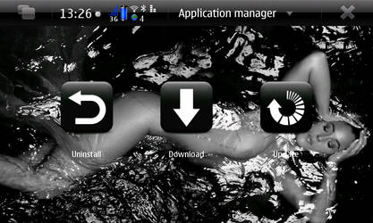 App Manager Screen by Q0smio