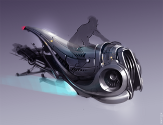 Space bike by I-Gorda