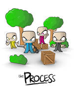The Process, The Woods Poster by smashmethod