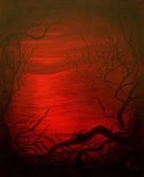 Sunset at hell by albertopitalua