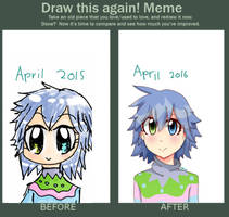 Draw this again meme! by NyanaNyan