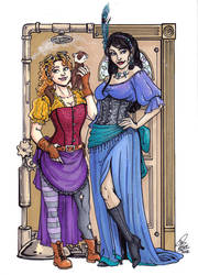 Annabelle and Jezebel by Kanthara