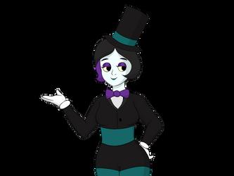 I drew one of my friend's characters. by Bluekitten199