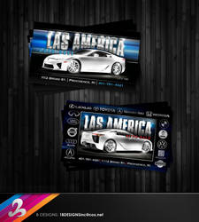 Las America Business Card by AnotherBcreation