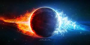 Fire Vs Ice by JustinBarbette