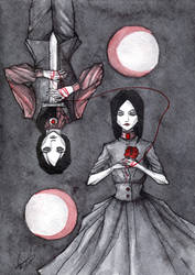 Vampire twins by Sadist-Ka