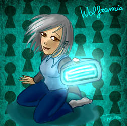 Wolframia the multiversal Locksmith by Wolframia