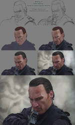 Making of Callan Mulvey - Ready to shoot Captain by ShaylyDauron