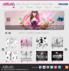 Addicted2 Web Design by lechham