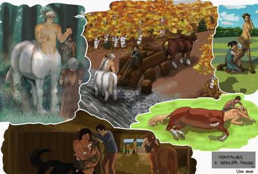 Centaur Page 2 by Uinn
