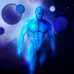 Doctor Manhattan by Nadao