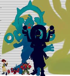 Height Chart (Digimon Arcana) by tora44