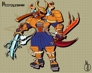 Mistsuzomon, The Dragon Shinobi by tora44