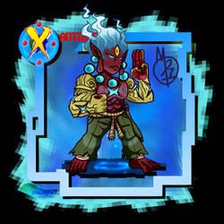 X-antibody Kamibimon The Enlighten by tora44