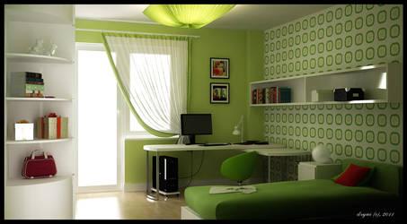 GreenRoom by Dryui