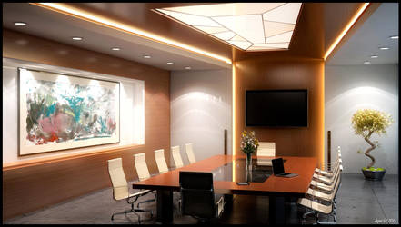 Conference room by Dryui