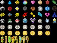 Pokemon Badges by JoseSacred